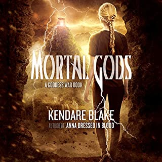 Mortal Gods     Goddess War, Book 2              Written by:                                                                                                                                 Kendare Blake                               Narrated by:                                                                                                                                 Kate Reading                      Length: 10 hrs and 26 mins     Not rated yet     Overall 0.0