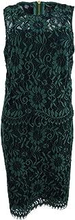 Women's Lace Popover Sheath Dress