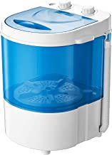 Auertech Mini Washing Machine, Portable Compact Laundry Machine Washer with Spin Dryer, Time Control, for Dorms, Apartment...