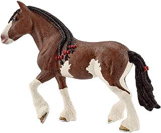 Schleich- Figura de Yegua Clydesdale, Colección Horse Club,