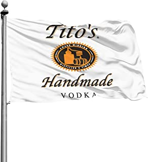 Qq15-kcdds-store Tito's Vodka Home Decoration Flag Garden Flag Indoor Outdoor Flag 4x6 Ft