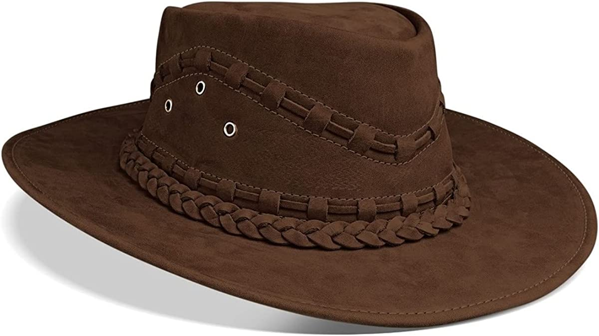 Cowboy Hat Western Real Leather for Mens and Womens Australian Countrymen