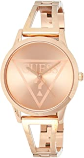 GUESS Womens Quartz Watch, Analog Display and Stainless Steel Strap - W1145L4