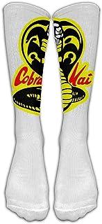 Calcetines largos hasta la rodilla Cobra Kai Medias de tubo atléticas para correr
