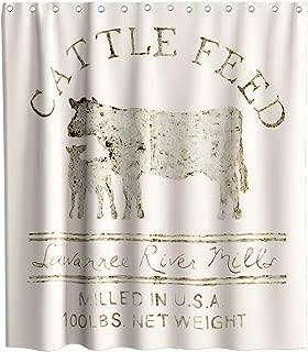 Best cow print shower curtain Reviews