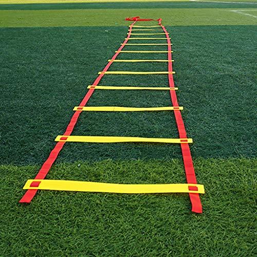Xin 6/8/10/12/20 Entrenamiento de la Velocidad peldaño de la Escalera Meta Entrenamiento de la Velocidad Escalera de Agilidad Footwork El Ejercicio del Deporte del fútbol Velocidad Escalera Escalera