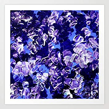 blues are violet