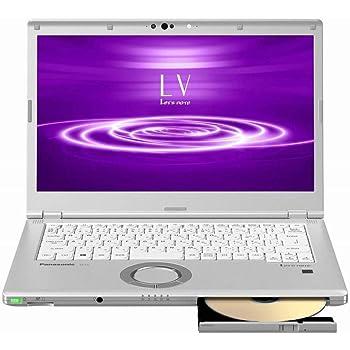 パナソニック CF-LV8NDSQR Let`s note LV8 店頭(Core i5-8265U/SSD256GB/SMD/W10Pro64/14FullHD/シルバー/OFHB2019)
