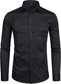 Best black dress shirt with pocket Reviews