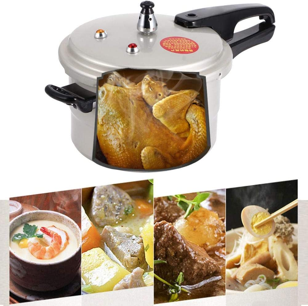 20cm gas, gas Pressure Cooker Household Pressure Cooker Cookware Electric Ceramic Oven for Gas Stove Cookware Cookware