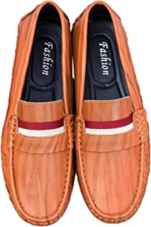 Mens Driving Moccasins Penny Slip On Loafers Lightweight Comfortable Casual Driving Shoes Boat Shoes for Men
