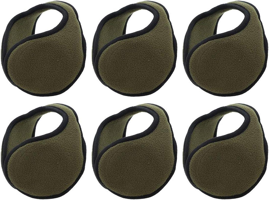 Ear Warmers Unisex Solid Bargain sale Polar Fleece Earmuff Set Easy-to-use of Winter 6