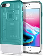 Spigen Classic C1 (10th Anniversary Limited Edition) Designed for Apple iPhone 8 Plus Case (2017) - Bondi Blue