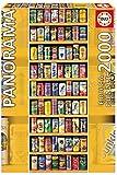 Educa Borras - Serie Panorama, Puzzle 2.000 piezas Lata sobre lata...