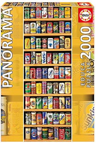 Educa Puzzle 2000 Peças - Latas - 11053