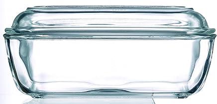 Arcoroc Helper Butterdose Kuh 17cm mit Deckel, 1 Stück preisvergleich bei geschirr-verleih.eu