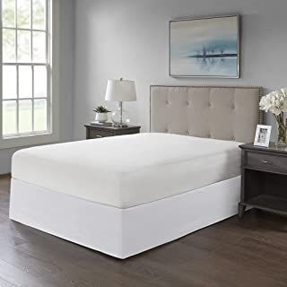 Madison Park Simple Fit Bedskirt, White
