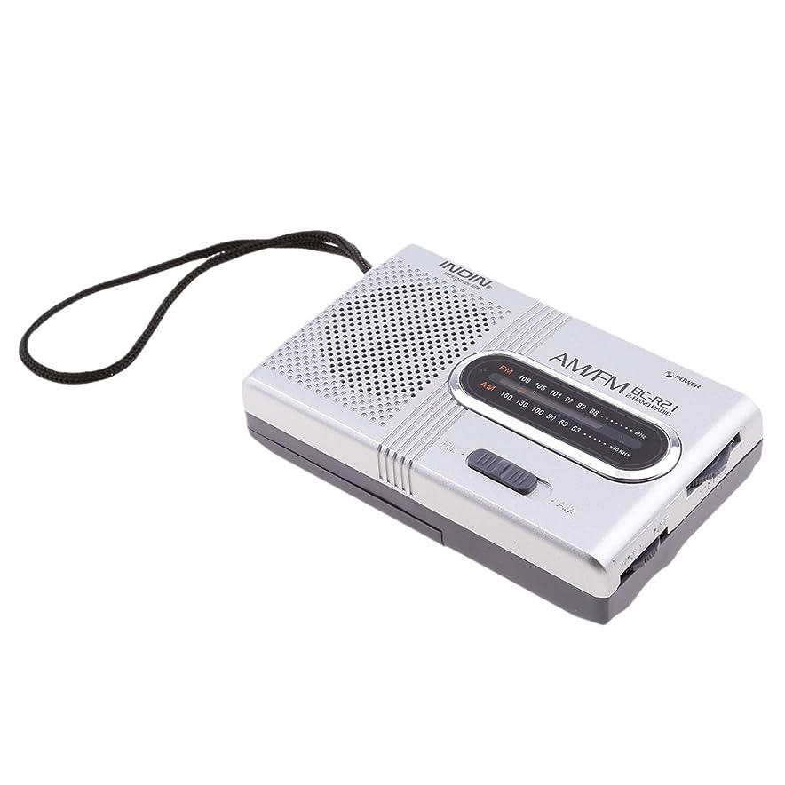 上昇まもなく不名誉なポケット AM/FM ラジオ ワールド レシーバー 伸縮アンテナ 内蔵スピーカー 周波数範囲 FM88-108MHz AM530-1600KHz