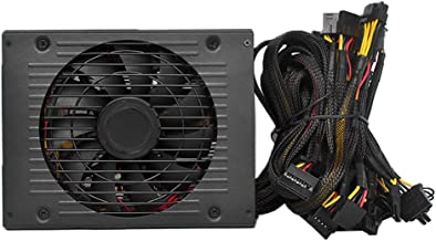 Power Supply, KKmoon 1800W Switching Power Supply 90% High Efficiency for Ethereum S9 S7 L3 Rig Mining 180-260V