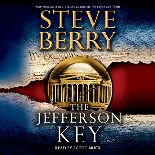 The Jefferson Key audiobook cover art