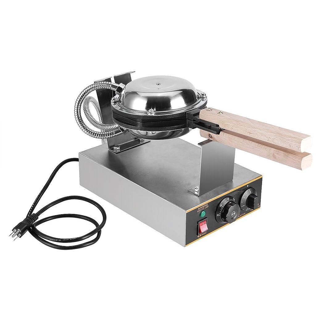 コンクリートそう軽減卵焼き機 ワッフルメーカー QQの卵型 ベーキングパン ケーキベーキングモールド EGGモールド おやつお菓子 ホーム 業務用 キッチン用 家庭用 業務用 110V USプラグ