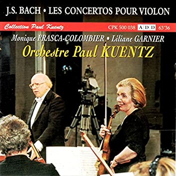Bach : Les concertos pour violon (Collection Paul Kuentz)