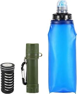 Senderismo Escalada y Emergencia Equipo de Supervivencia para purificador al Aire Libre para Acampar Paja de Supervivencia port/átil junchuang Filtro de Agua Personal Filtro de Agua de Paja