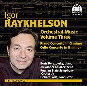 Raykhelson: Orchestral Music, Vol. 3