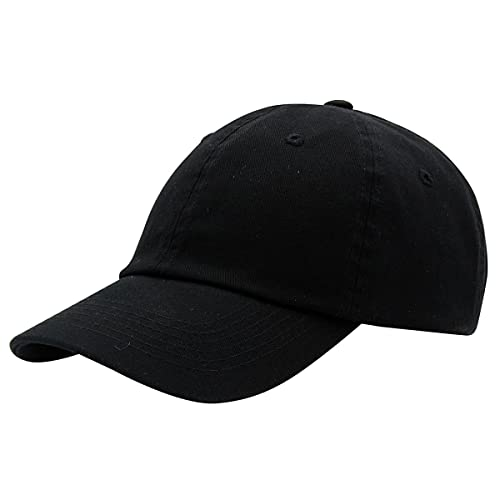 dcb1848ed0c Top Level Baseball Cap for Men Women - Classic Cotton Dad Hat Plain Cap Low  Profile