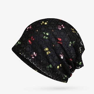 YLNNB Summer Hats for Butterfly Pattern Lace Mesh Cap Headgear Headwear Fashion Gorros Female