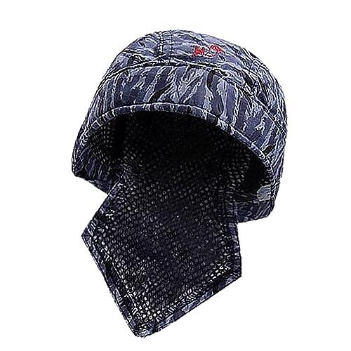 92cfdab18c8 Baoblaze Sweat Absorption Elastic Welding Welder Hat Cap Scarf Cotton Flame  Retardant