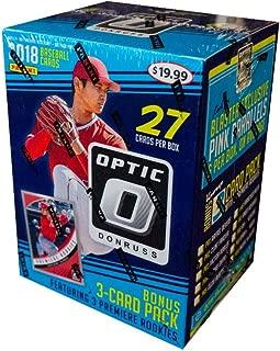 2018 Panini Donruss Optic Baseball 7ct Blaster - Bonus Pack