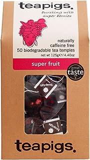 Teapigs Super Fruit Tea Made With Whole Fruit (1 Pack of 50 Tea Bags)