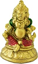 Divya Mantra Feng Shui Tibetan Wealth God Jambhala Kubera for Success and Abundance - Multicolor