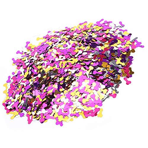 100 g/bolsa Suministro de decoración de mesa para fiestas para decoración de festivales
