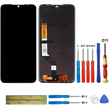 Color : Blue LIYUNSHU LCD Screen and Digitizer Full Assembly with Frame for Xiaomi Redmi 7 Black