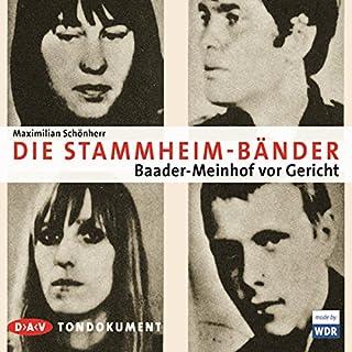Die Stammheim-Tonbänder Titelbild
