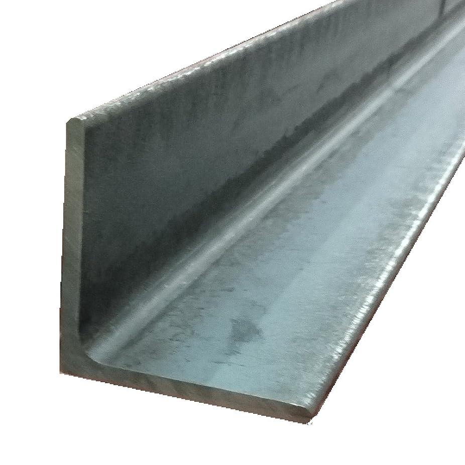ゴール改修設計図アングル(山形鋼) L-3×25×25 L=1200mm 生地(黒皮皮膜)