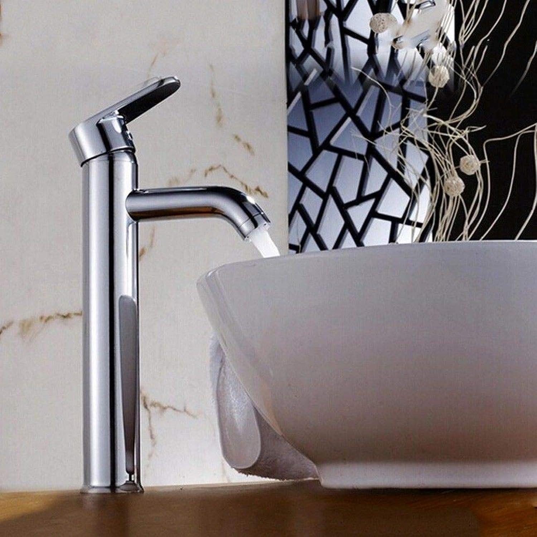 Rmckuva Waschtischarmaturen Badarmatur Moderner Einhebelmischer Verchromter Messingmischer Gebogener Spiegeleffekt