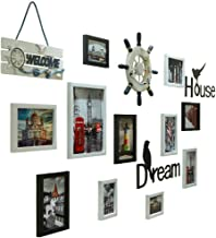 Photo Frame Wall Photo Frames Wall,bedroom Decoration Background Photo Wall,photo Album Wall Hanging Combination,rudder Le...