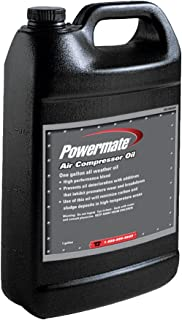 PowerMate Vx 0180063SP 1 gallon All Weather Air Compressor Oil,
