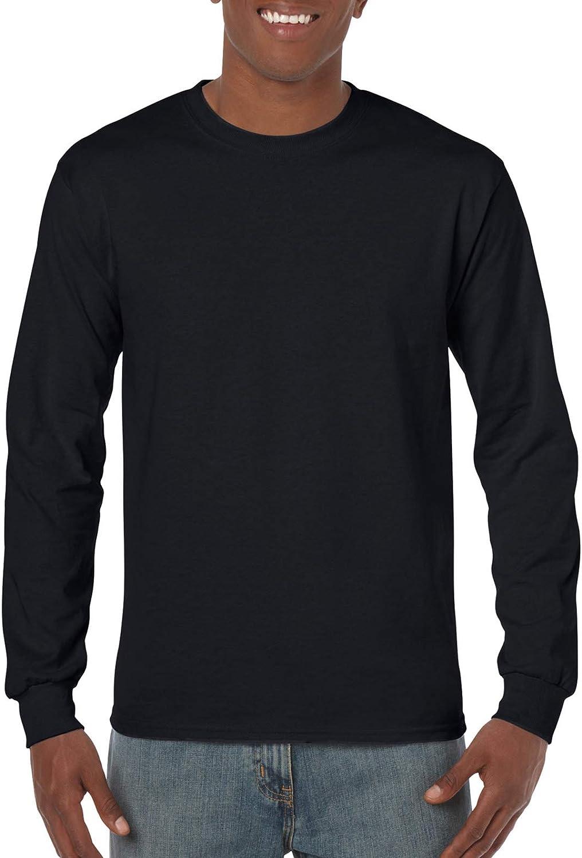 Gildan Heavy Cotton 100% Sleeve T-Shirt. Long High Max 59% OFF quality