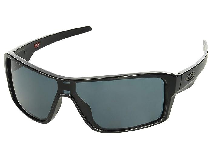 Oakley Ridgeline (Polished Black/Prizm Grey) Sport Sunglasses