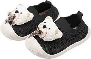 DEBAIJIA Chaussures pour Tout-Petits 1-5T Bébé Première Marche Enfant Mignon Ours Baskets Semelle Souple Antidérapant Mesh...