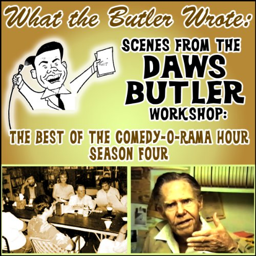 What the Butler Wrote audiobook cover art