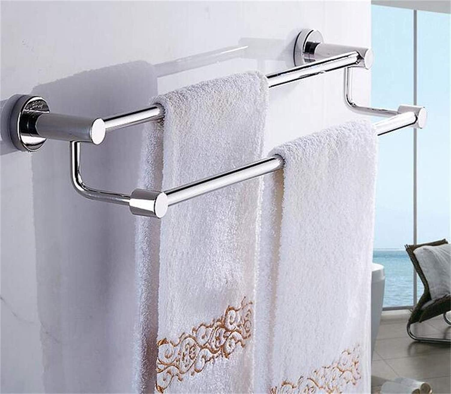EQEQ Stainless Steel Shelving in Bathroom Bathroom Storage Rack Shelf Propeller Embedded Bathroom