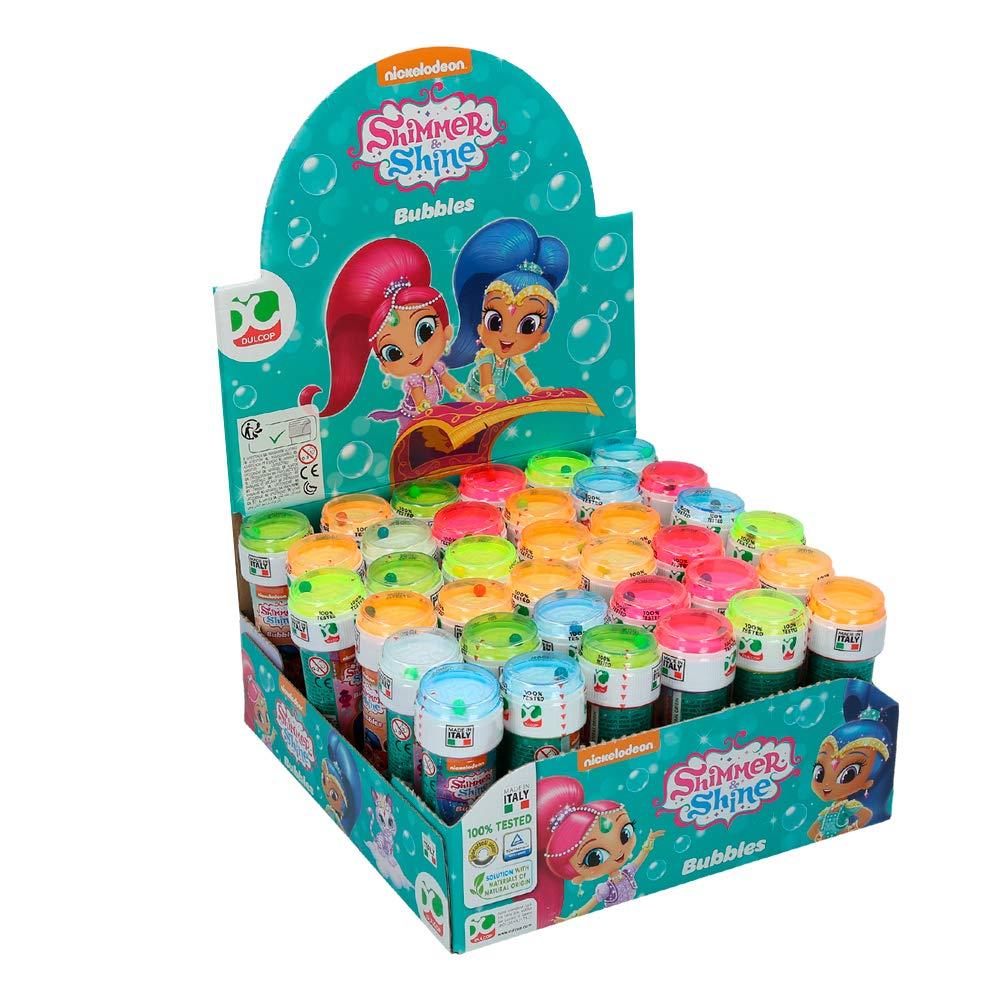 ColorBaby - Shimmer & Shine Pomperos de jabón, 36 unidades (ColorBaby 76857): Amazon.es: Juguetes y juegos