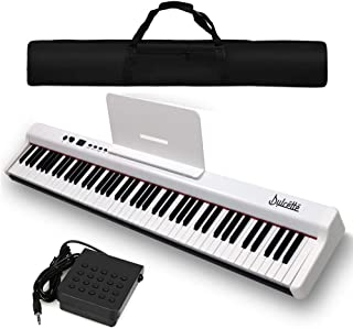 Dulcette DX-10 88-Key Portable Piano Keyboard | Dual 25W Spe