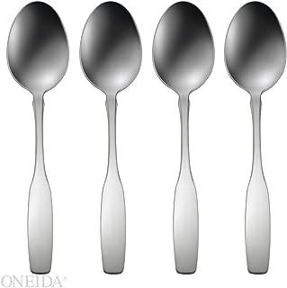 Oneida Paul Revere Fine Flatware Set, 18/8 Stainless, Set of 4 Dinner Spoons