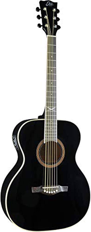 Guitarra acústica eléctrica EKO NXT 018 EQ negra